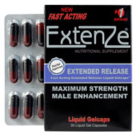 extenze extended release open package